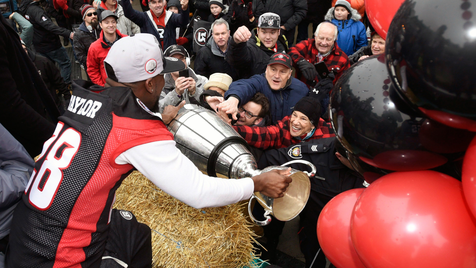 Suspect arrested after Grey Cup sex assault