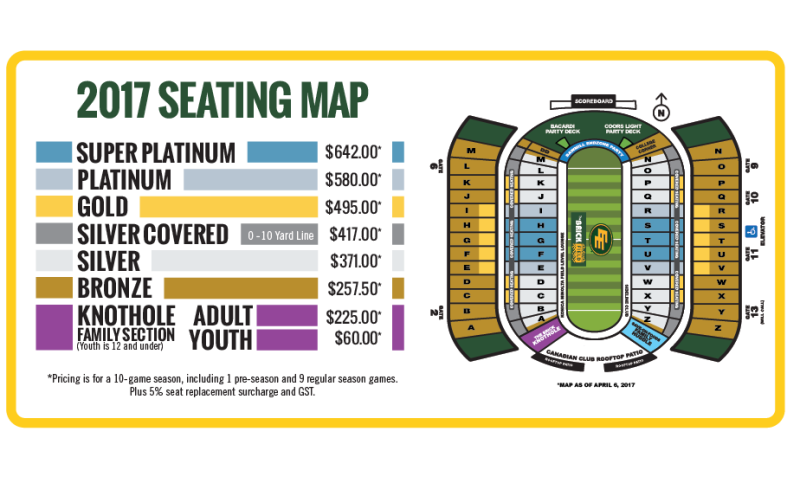 Landscape Seating Map