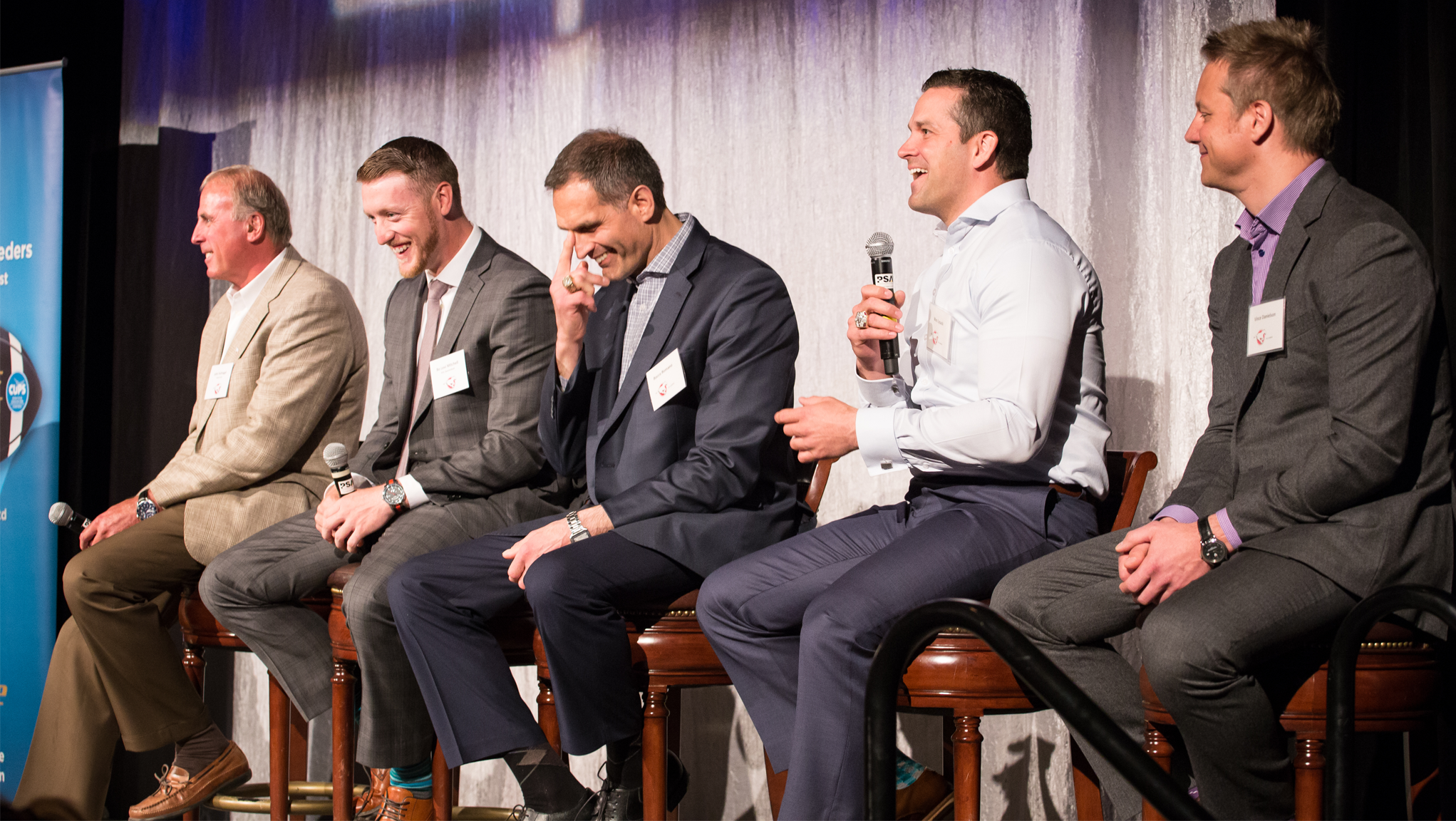The 2015 Stampeders CUPS kickoff breakfast (Photo by Valadka Photography)