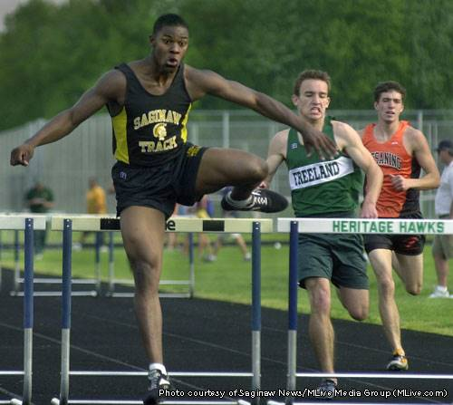 Charleston Hughes high school track