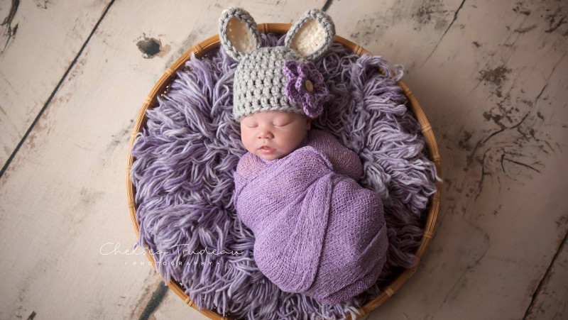 Maliya Mayo was born on April 5, 2017 (Photo by Chelsea Trudeau Photography)