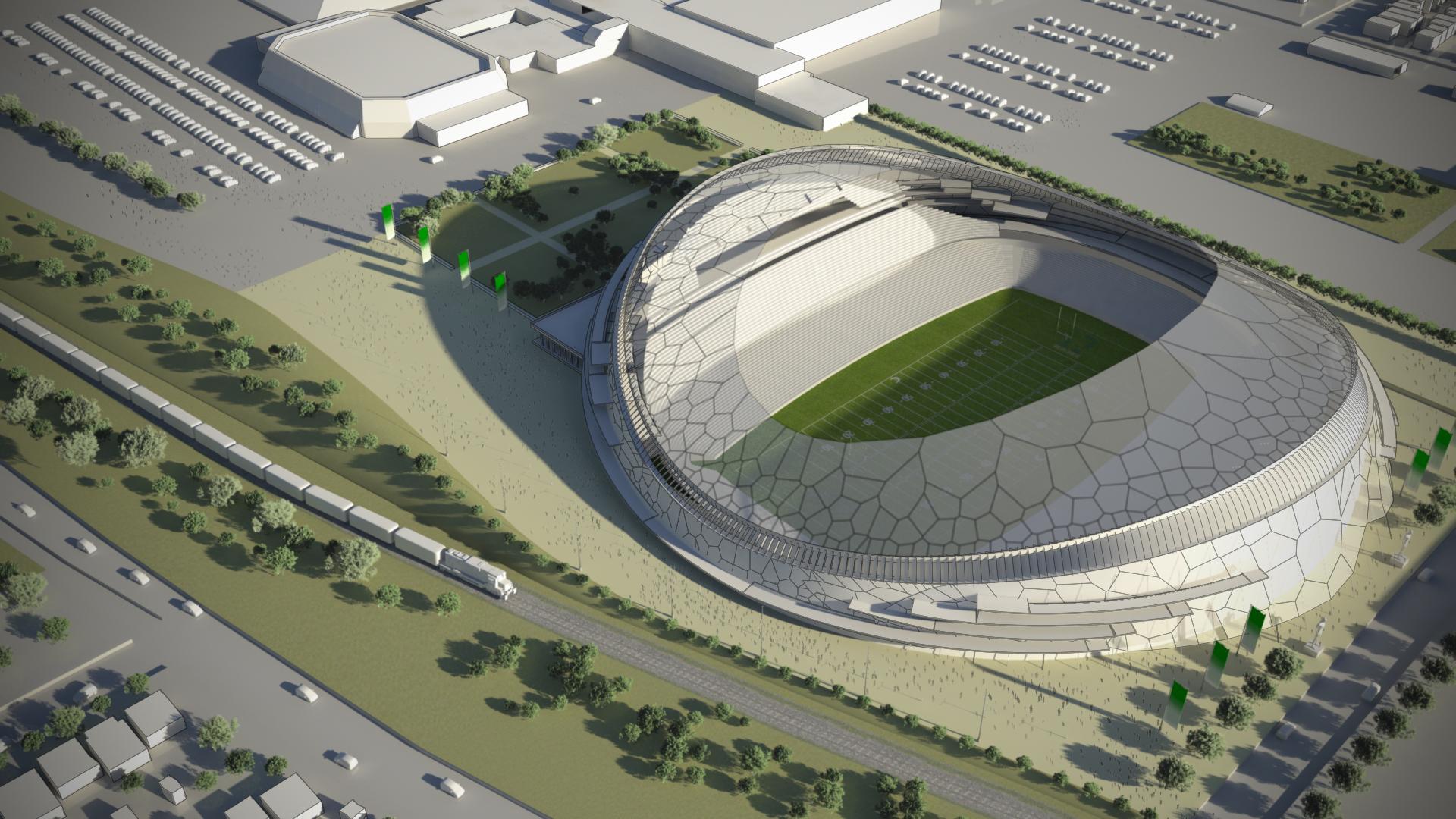 Concept Designs Unveiled For New Stadium Saskatchewan