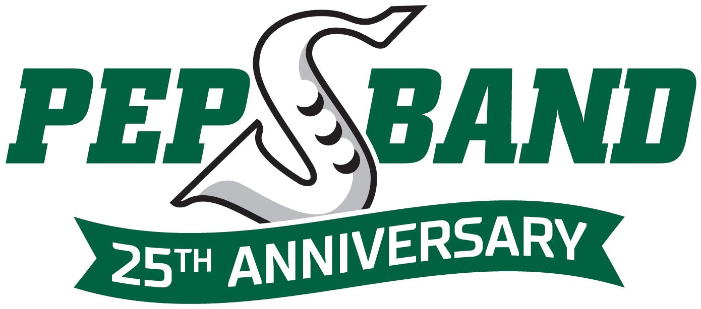 Rider Pep Band logo 25th Anniversary CMYK Release
