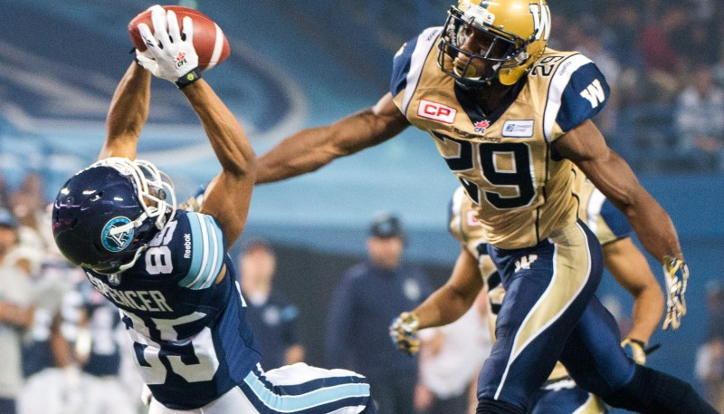 Diontae Spencer Catch Winnipeg