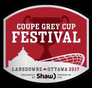 105 Grey Cup Festival Logo