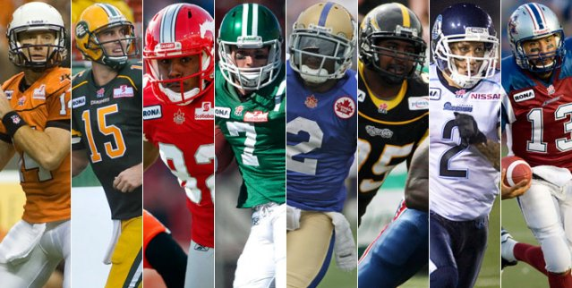 2011 team player award nominees announced cfl ca