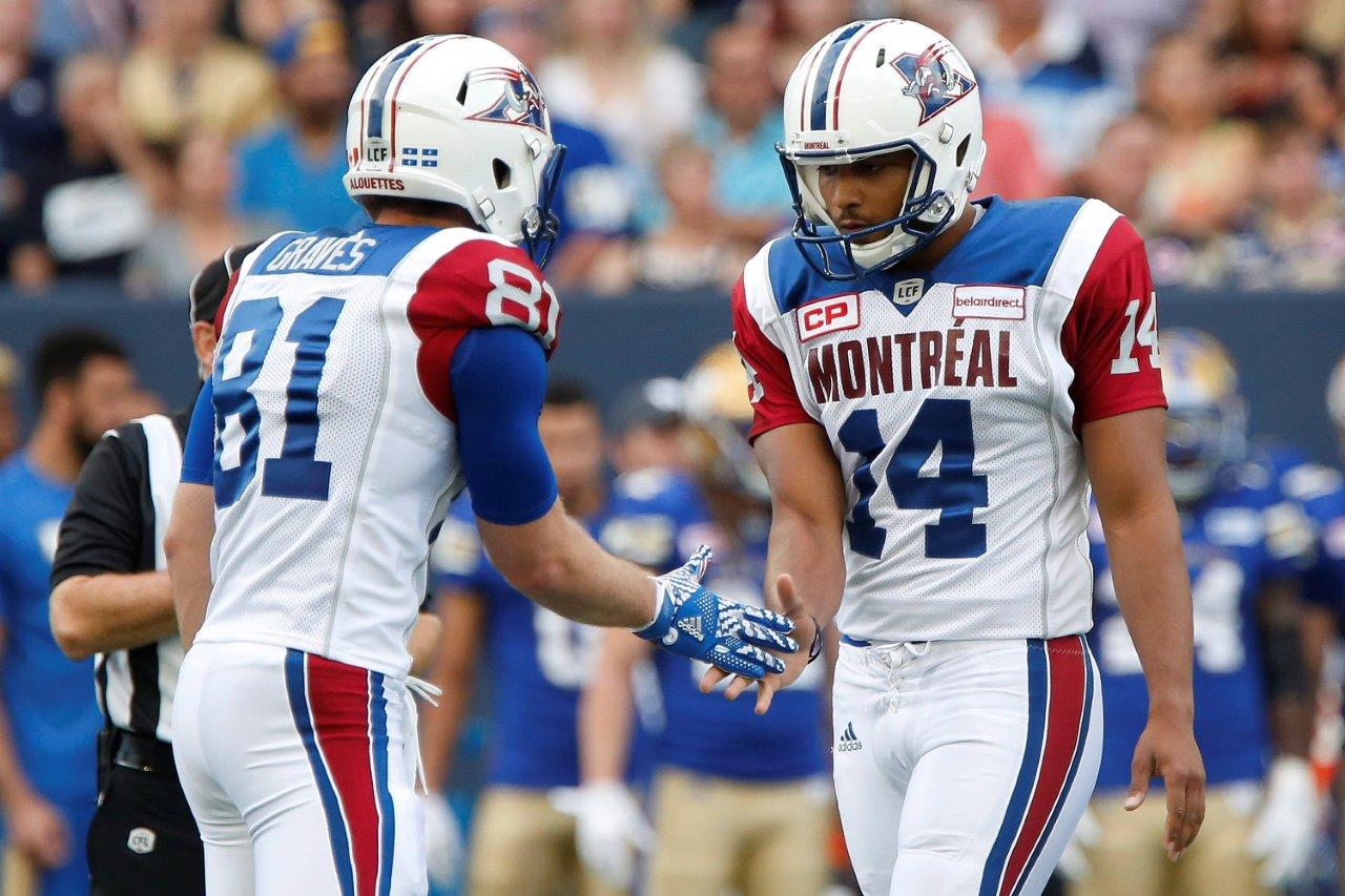 e4bc416a049 The Alouettes uniform is great, especially when they wear the white pants  and helmets as they did in 2016. They should dump the silver helmets and  pants and ...
