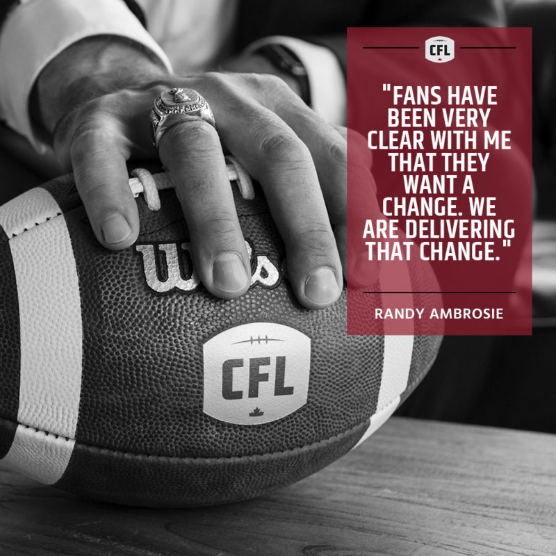 CFL implements new rules regarding challenges