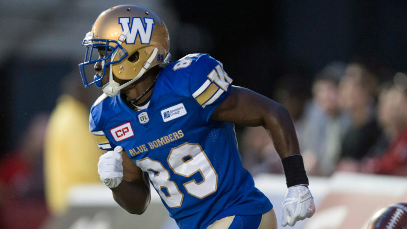 Eskimos beat Blue Bombers 39-32 in CFL's West semifinal