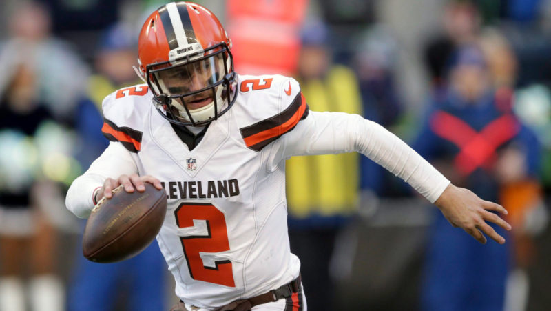 Johnny Manziel still in talks with CFL team