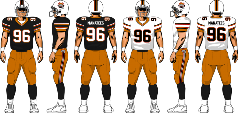085aab167 Oh What Could Have Been; The Miami Manatees Glorious Potential Unis ...