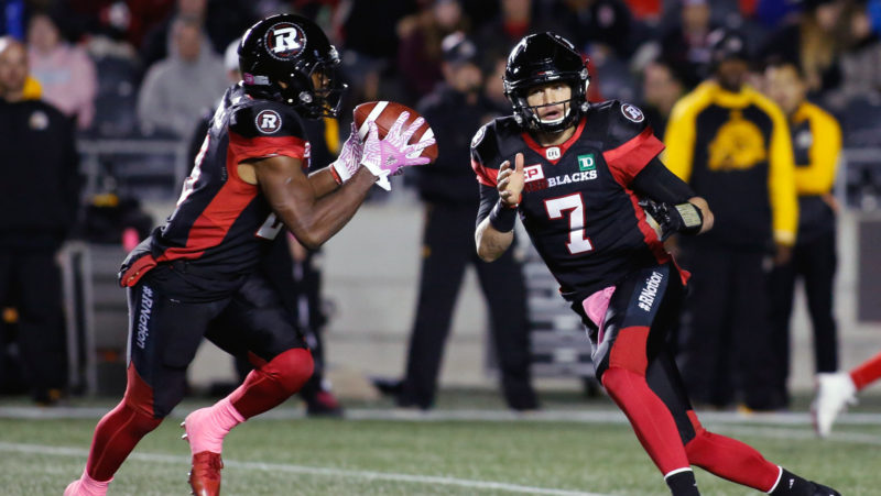 Checking Down Plenty Of Movement In Week 20 Cfl Ca