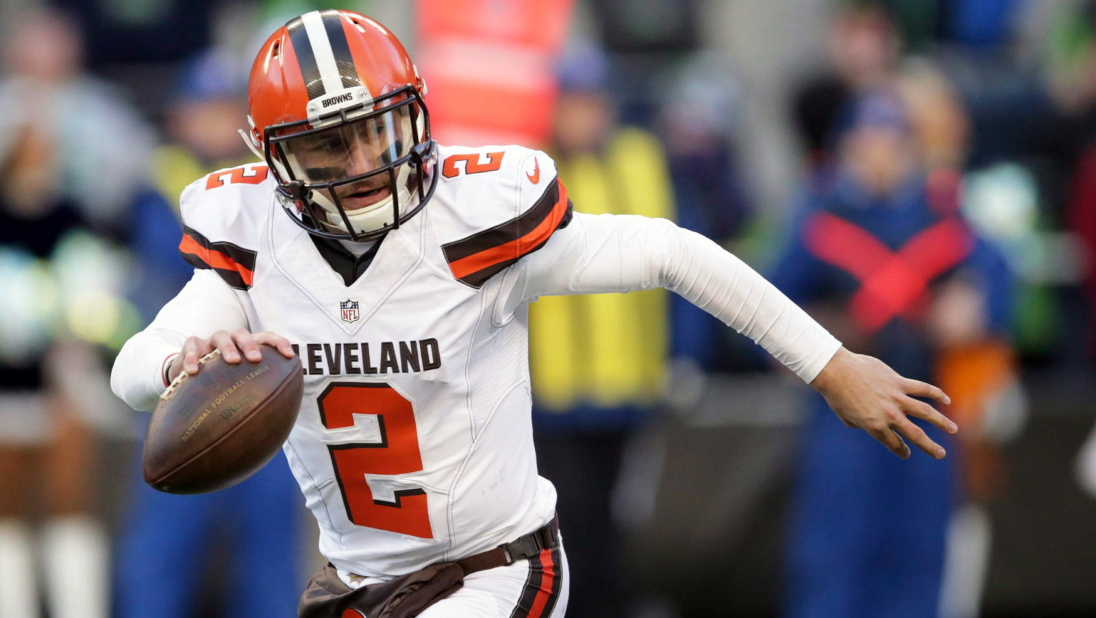 Jones on Manziel: \'He\'d be the best player to ever play up here ...