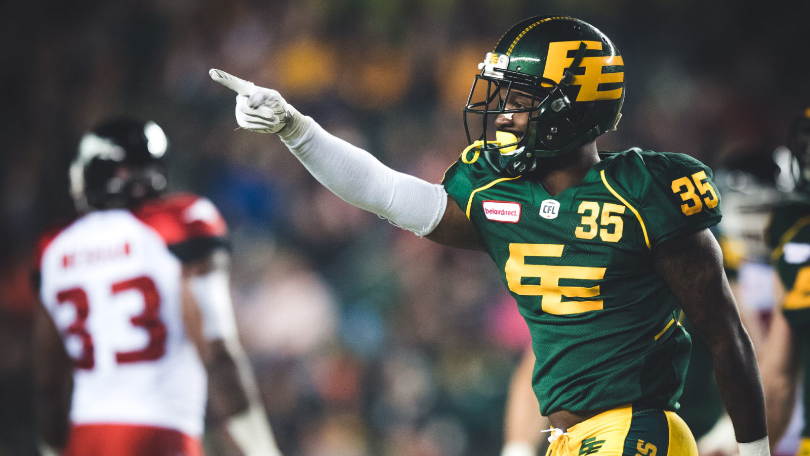 Eskimos bolster defence by signing free-agent defensive lineman Bazzie