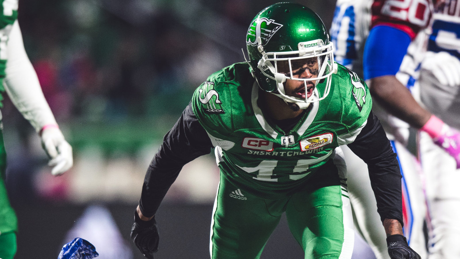 Saskatchewan Roughriders launch Kacy Rodgers II