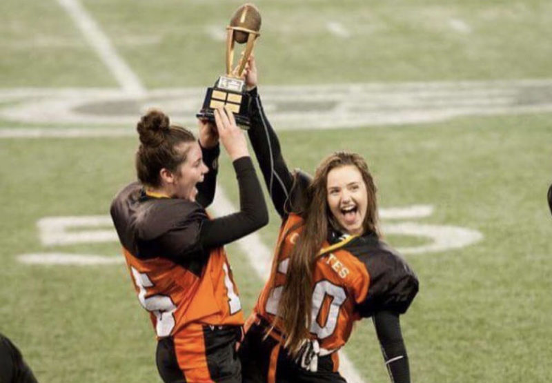 Canada S Only Girls Tackle Football League Breaking Barriers Cfl Ca