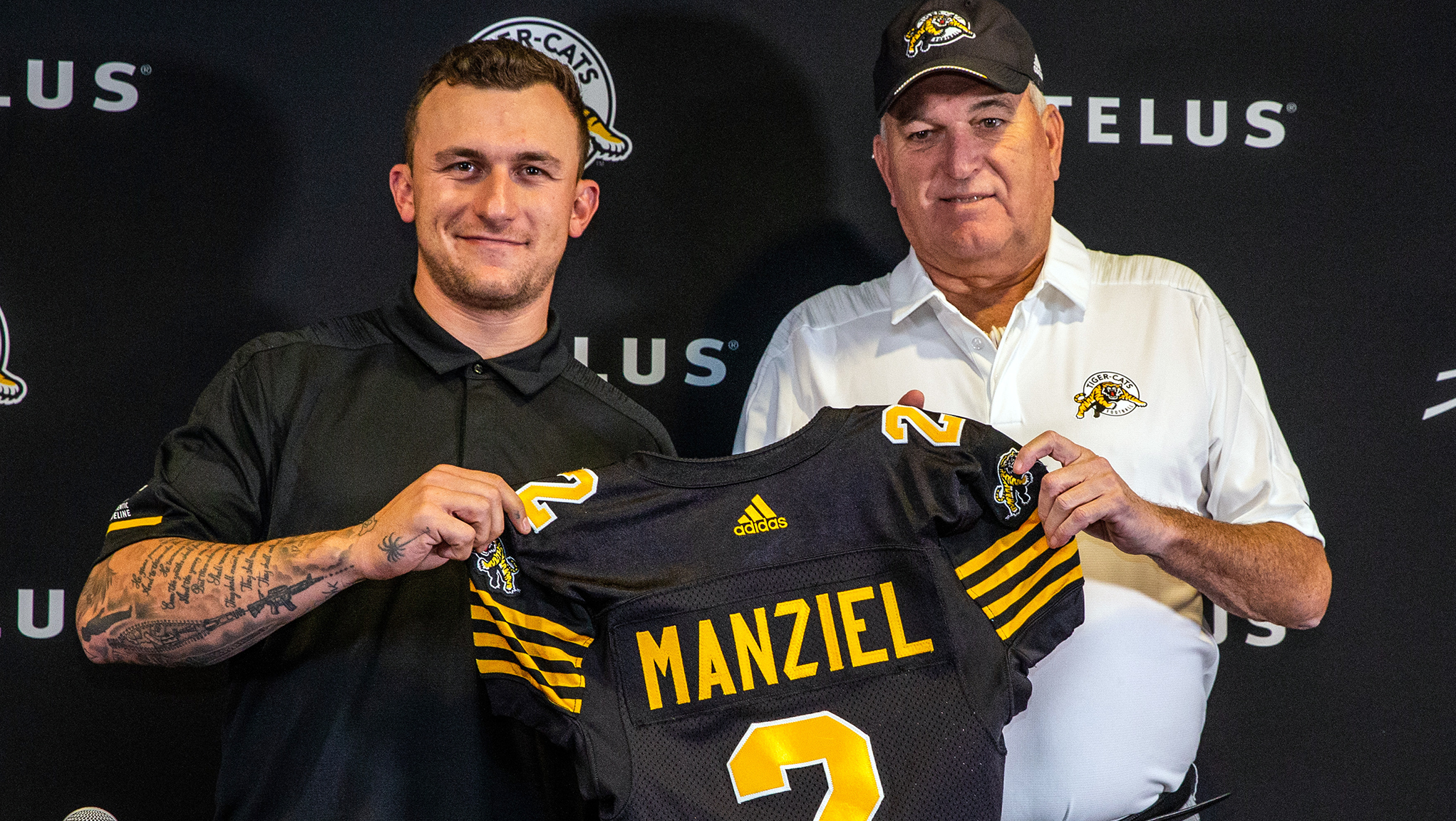 Ticats confirm Manziel signing  Johnny touches down in Hamilton - CFL.ca 0273504a2