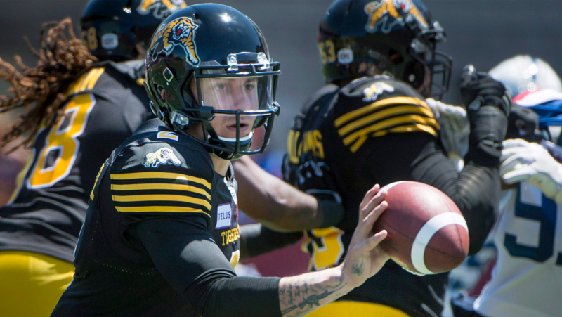 Tiger-Cats trade Johnny Manziel to Alouettes