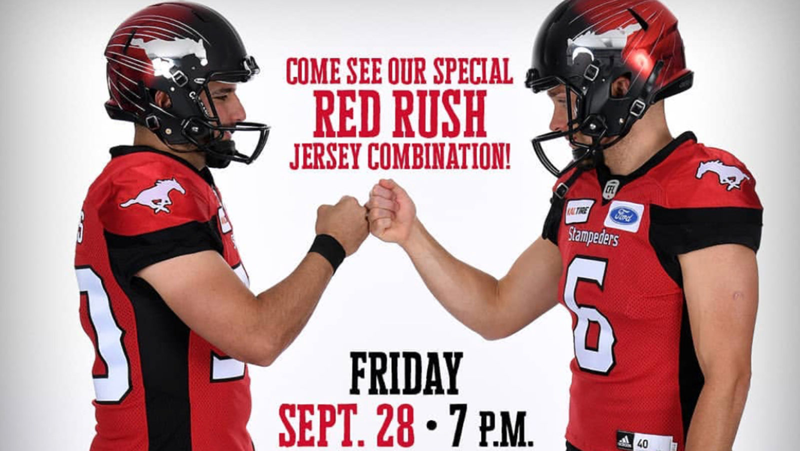 f10e3027f Stamps to roll out new jersey combo for Argos game - CFL.ca