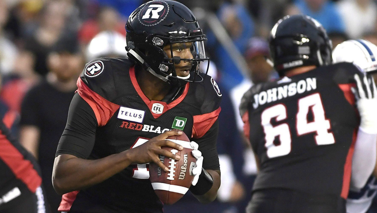 Checking Down  REDBLACKS  QB contest wide open - CFL.ca 1ea9fa1d3