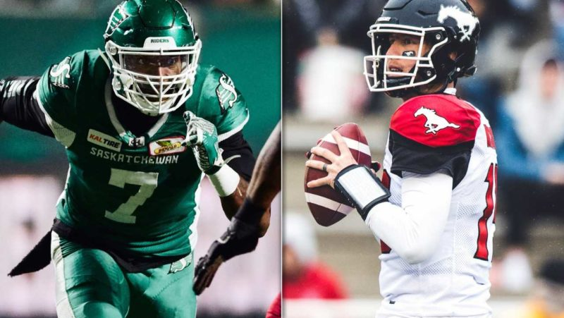 Riders, Stamps set to close out Week 19