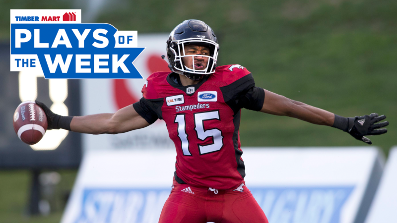 Eric Rogers stretches out to grab top spot in timber mart plays of the week