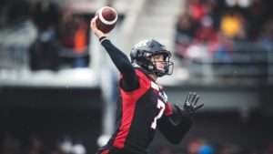 EF: Harris makes CFL history with 6th TD Pass