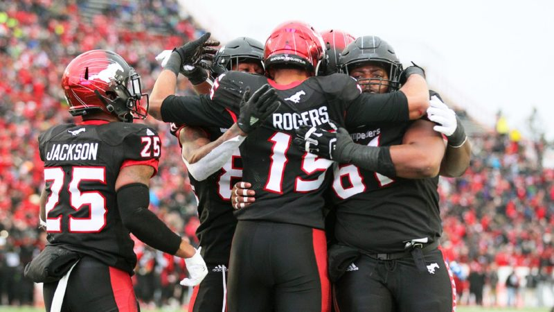 WF: Stamps get the offence rolling with long TD drive