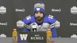 WF: Blue Bombers Post-Game Comments
