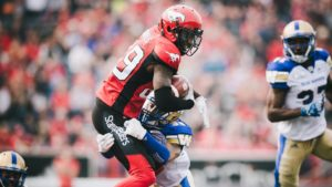 GC106: Dickenson, Mitchell address Calgary's receiver injury carousel