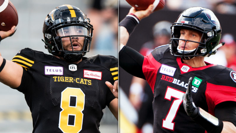 Ticats, REDBLACKS battle in the capital in Eastern Final
