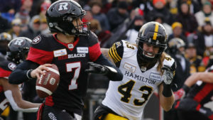 Trevor Harris sets playoff record with sixth TD pass
