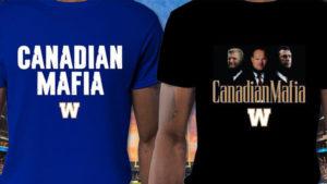 Bombers selling limited 'Canadian Mafia' shirts