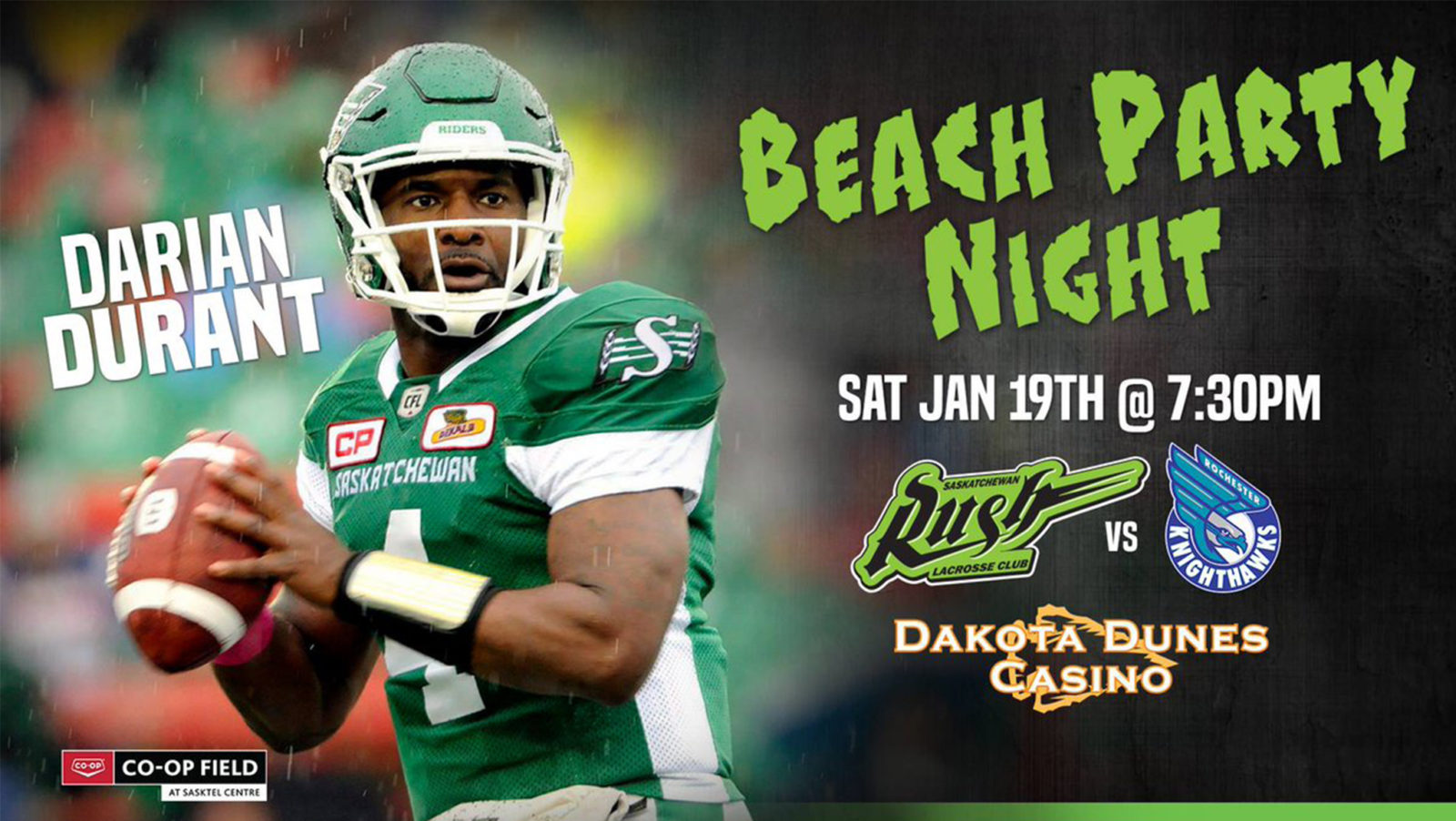 Lacrosse team to host Darian Durant Night