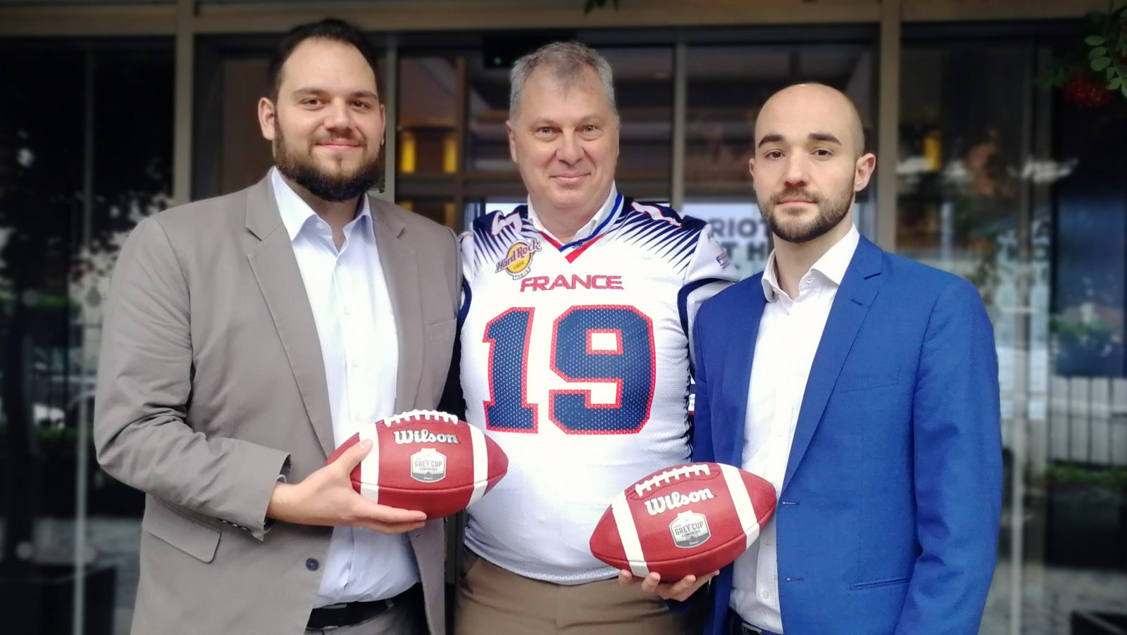 Image result for CFL reaches an agreement with French American Football Federation