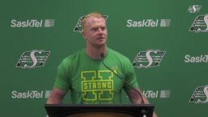Jon Ryan comes home to Saskatchewan