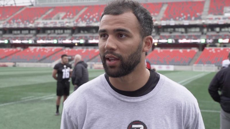 REDBLACKS check in on day one of camp