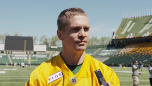 Trevor Harris at his first Esks camp