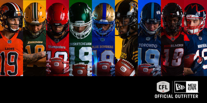 First Look: New Era launches CFL team uniforms
