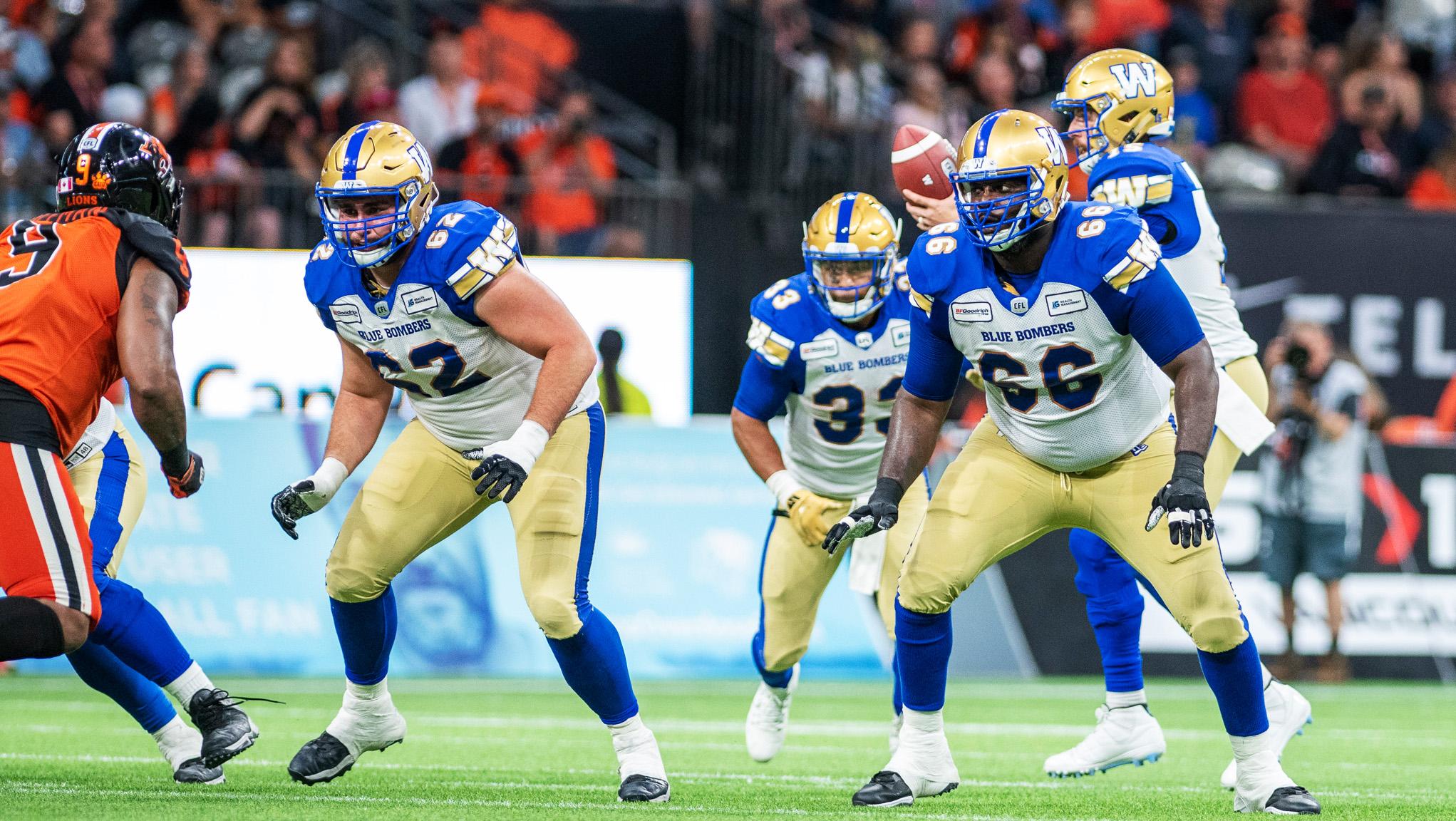 Morris: Revamped O-line dominant in Bombers season-opener - CFL.ca