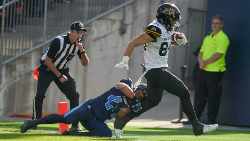 O'Leary: 24 hours after contest very different for Ticats, Argos