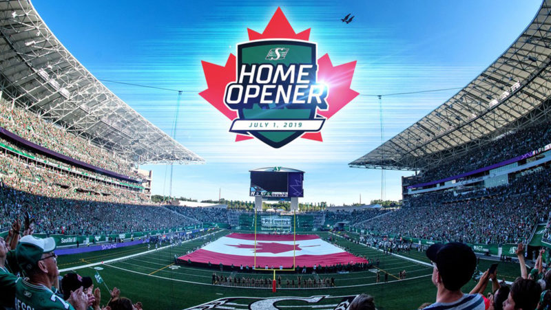 Canada D'Eh: Riders all set for opener
