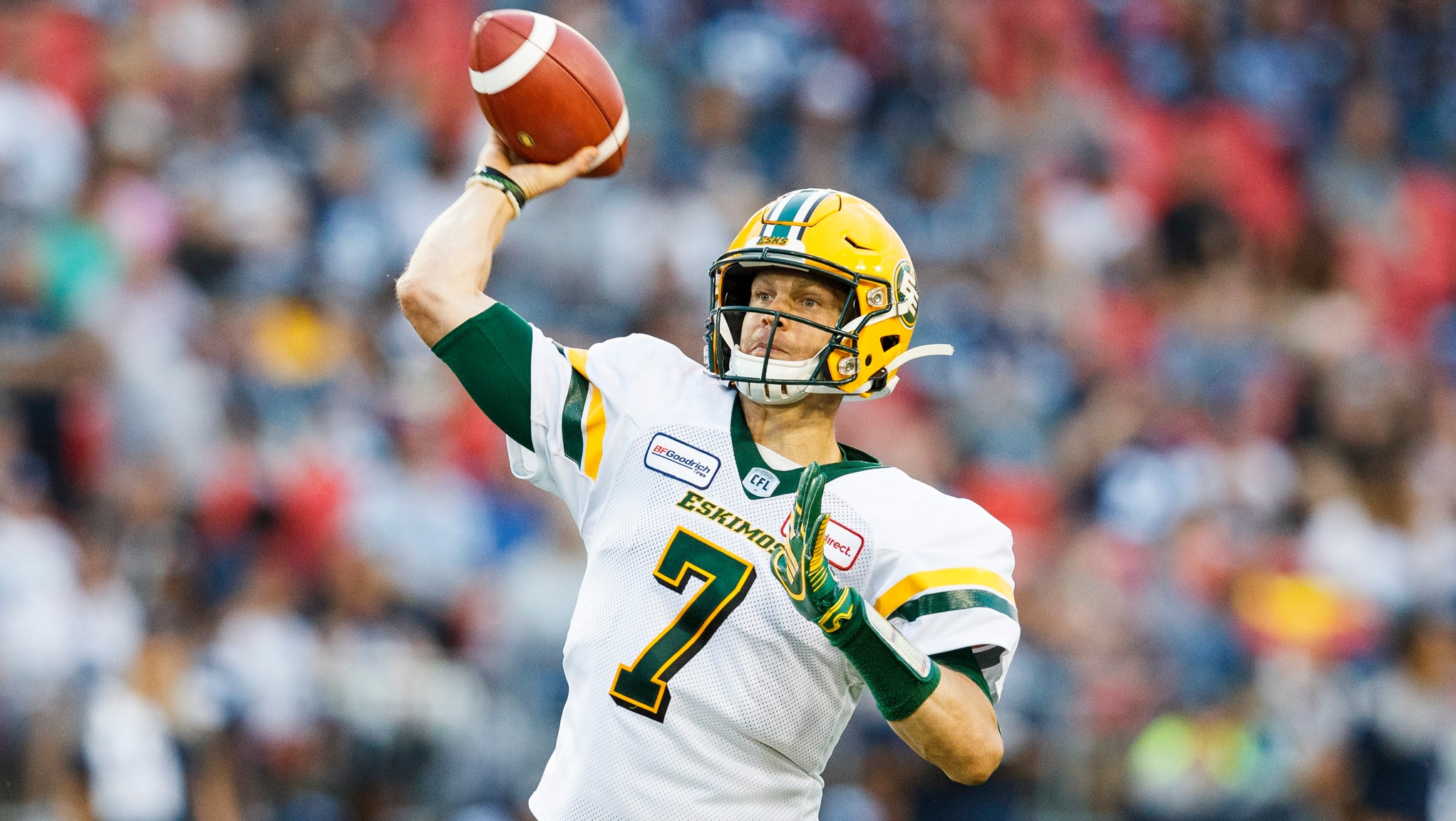 Harris continues strong season in win over Argos - CFL.ca