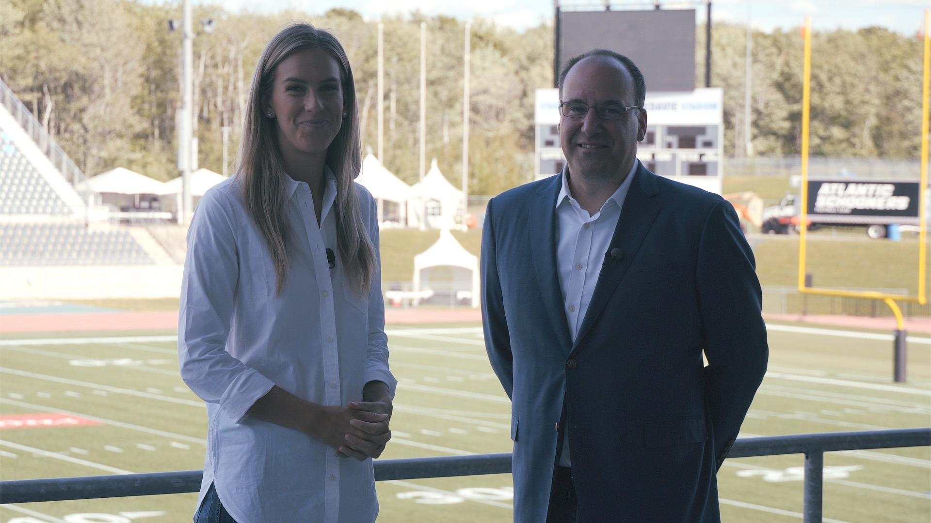 1 on 1 with Anthony LeBlanc, Schooner Sports and Entertainment - CFL.ca