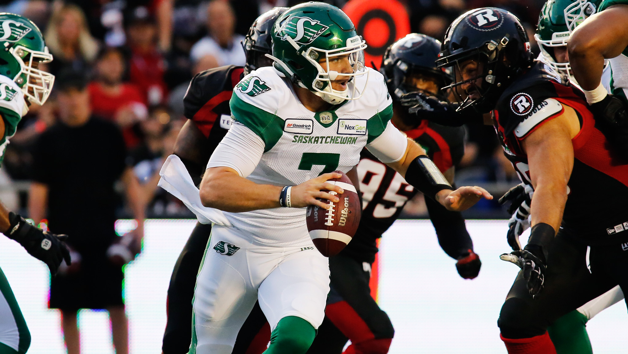 Nye: Different story for Riders, REDBLACKS since first meeting - CFL.ca