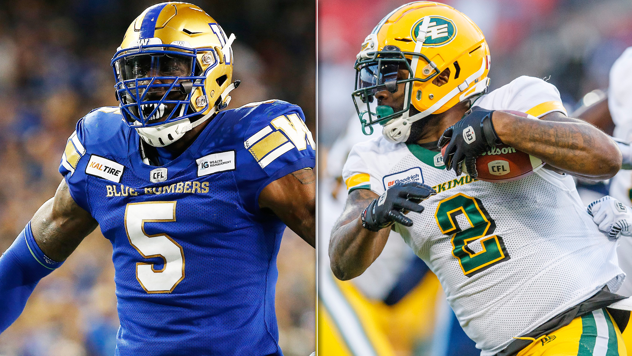 Esks, Bombers battle for first place in the West - CFL.ca