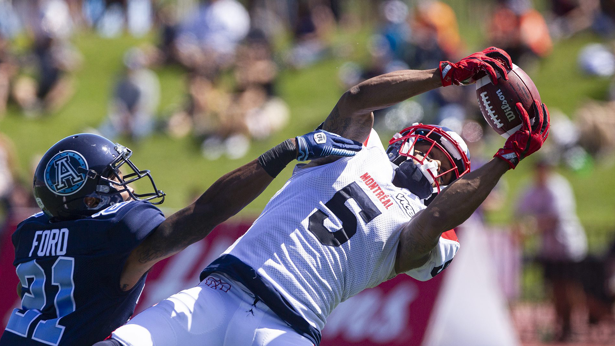 Alouettes best Argos in thrilling Touchdown Atlantic clash - CFL.ca