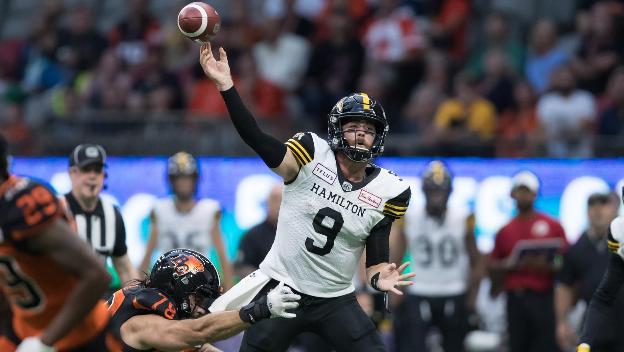 Ticats win defensive battle against Lions - CFL.ca