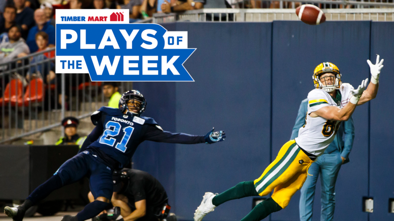 Ellingson makes a spectacular catch in the Timber Mart Plays of the Week