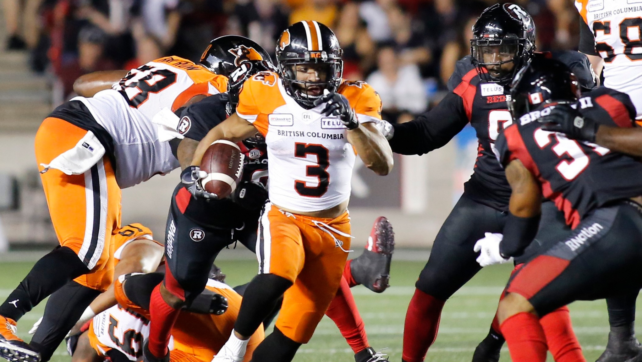 Lions roll over REDBLACKS for biggest win of season - CFL.ca
